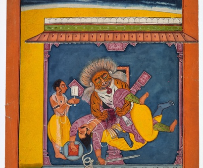 Indian paintings from the Ludwig Habighorst Collection